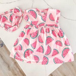 NWOT watermelon dress